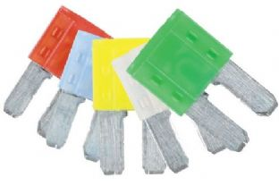 Connect 37154 LED Micro 2 Blade Fuse Assorted Pack 10/15/20/25/30amp 5 Pc